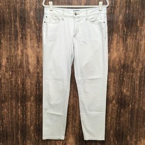 NYDJ WHITE ANKLE JEANS